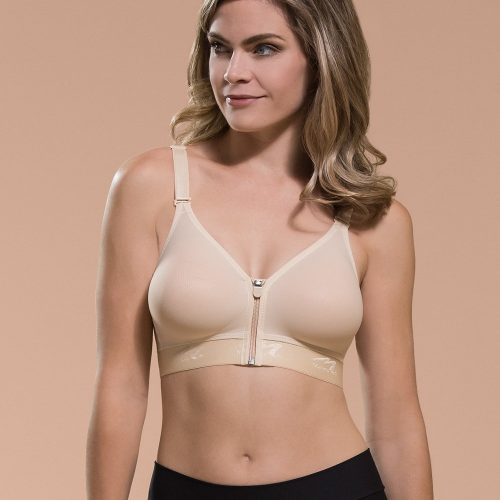 Seamless Cup Bra with Zipper B09Z
