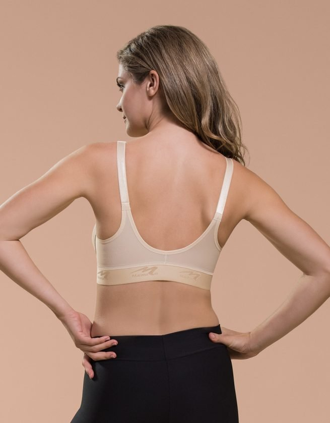 Seamless Cup Bra with Zipper Back B09Z