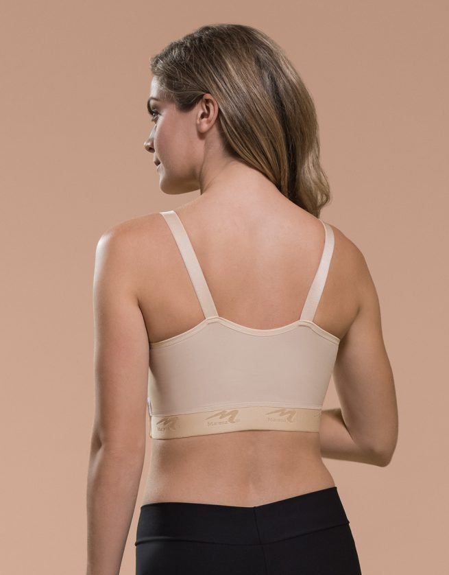 BNVL | Classic Bra with Drain Tube Loops Back