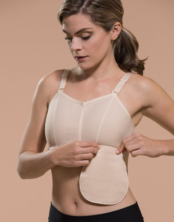 BNVL | Classic Bra with Drain Tube Loops Pouch