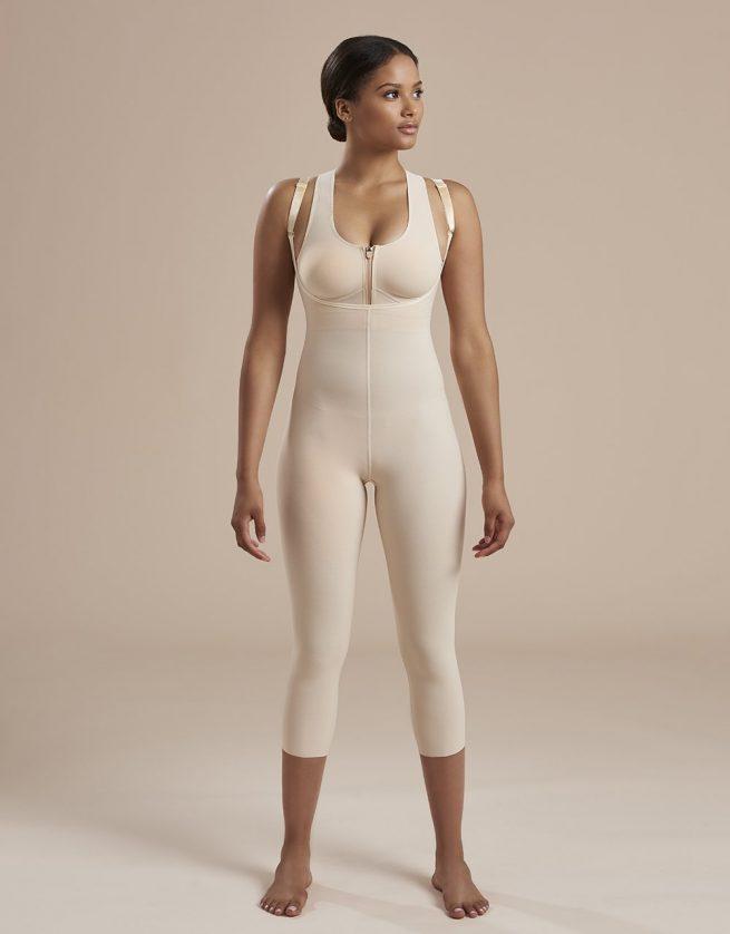 Calf Length Bodysuit Suspenders Second Stage - SFBHM2 - 04