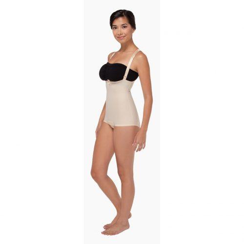 FBA2 - Zipperless Bikini Length Bodysuit Suspenders