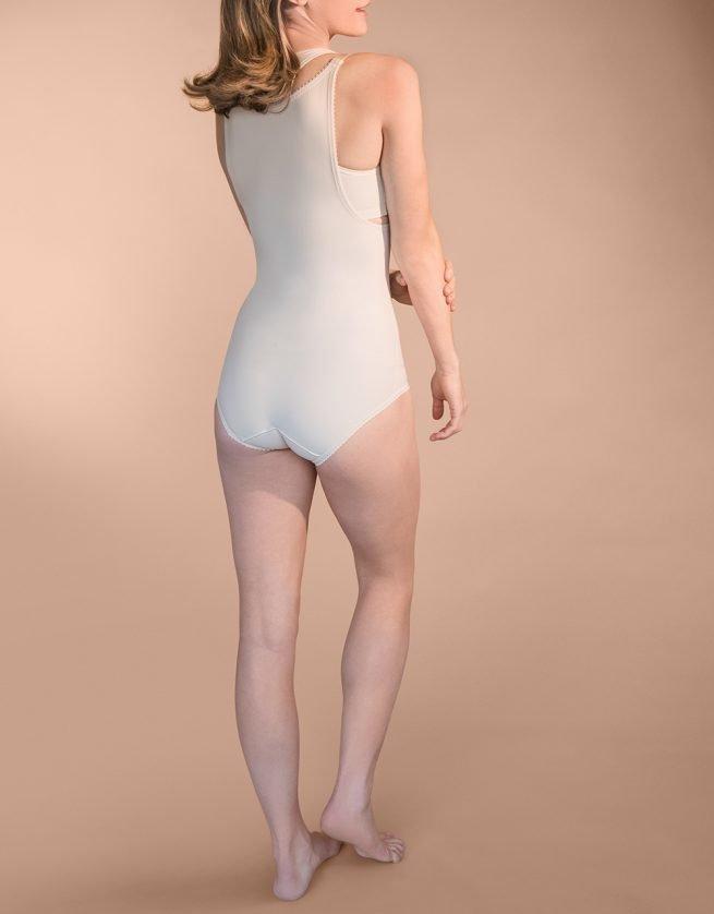 FBA - Bikini Length Bodysuit with Suspenders