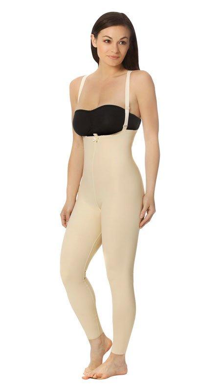 FBL2 - Zipperless Ankle Length Bodysuit Suspenders