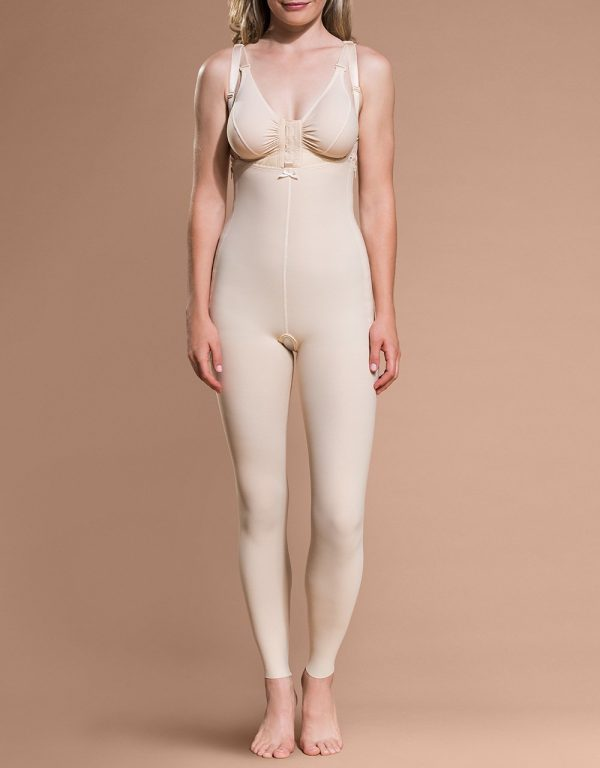 FBL - Ankle Length Bodysuit with Suspenders