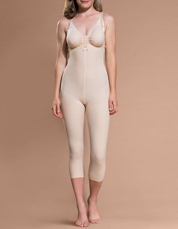 FBM - Medasun Calf Length Bodysuit with Suspenders