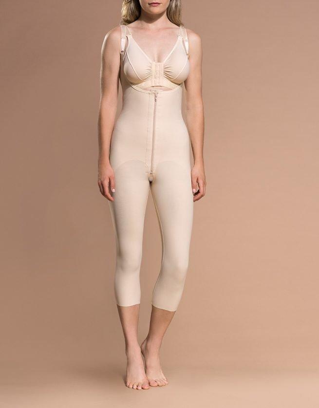 FBOM - Calf Length Bodysuit Open Buttock