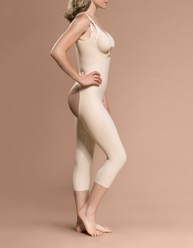 FBOM - Calf Length Bodysuit Open Buttock