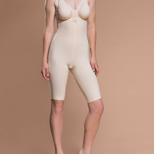 FBS - Short Length Bodysuit with Suspenders