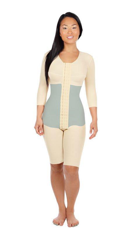 c1134539e7 FTRSSM | Short Length Bodysuit with 3/4 Length Sleeves and ...