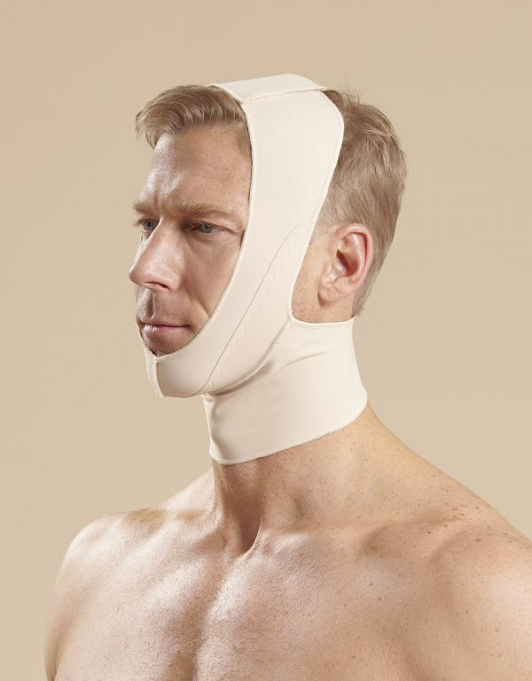 Full Neck Surgical Chin Strap - FM100-C - Male