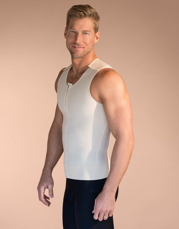 MV - Medasun Male Post Surgical Compression and Recovery Vest