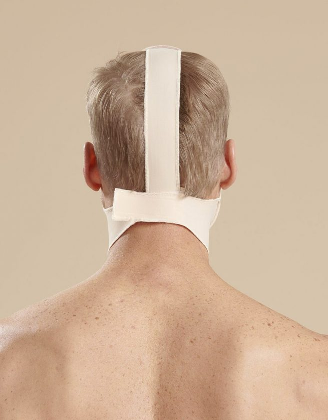 Mid Neck Surgical Chin Strap - FM100B Back
