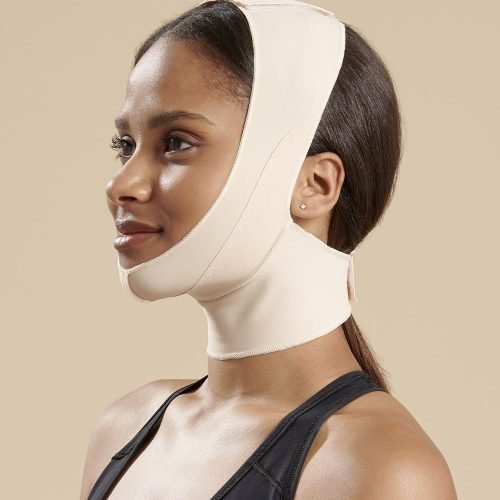Mid Neck Surgical Chin Strap - FM100B Side Female