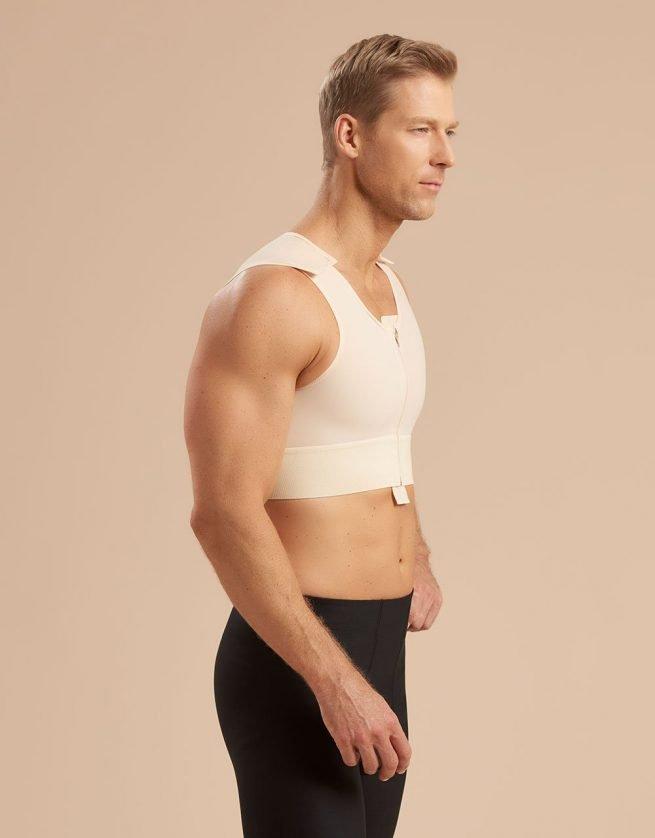 Short Male Vest - MVS Medasun UK - Side