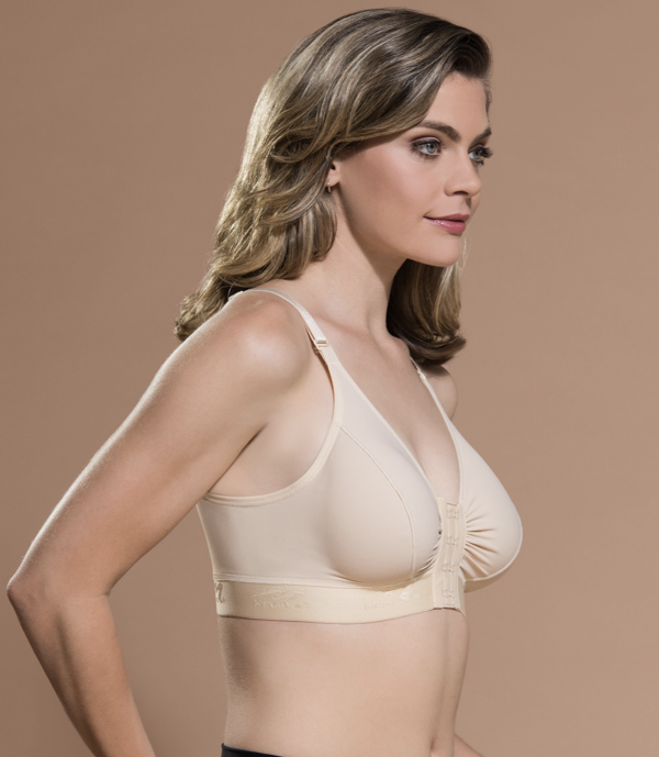 BA Classic Recovery Bra fit A-E cups full coverage side view