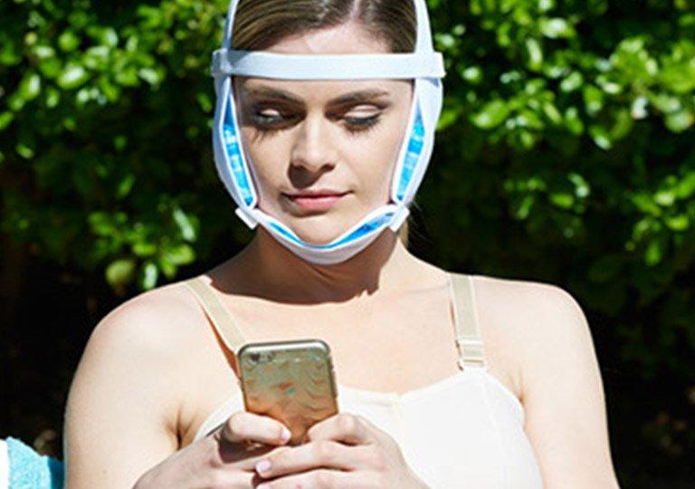 Medasun Unisex Facemasks Binders Recovery After Facial Surgery