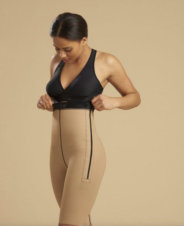 Ladies Girdle One Zip - Knee Length | LL1GS 04