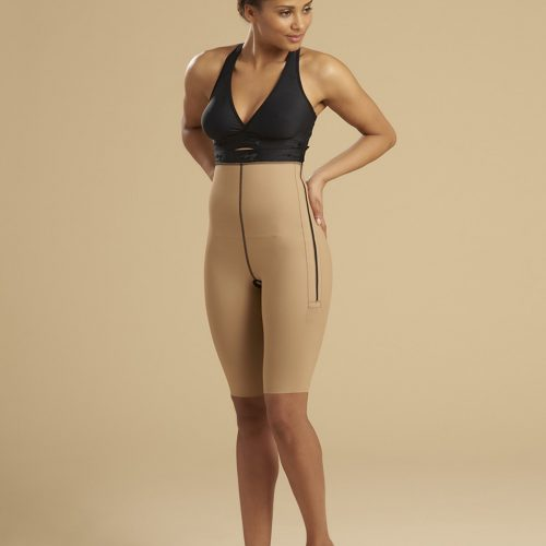 Ladies Girdle One Zip - Knee Length | LL1GS 05
