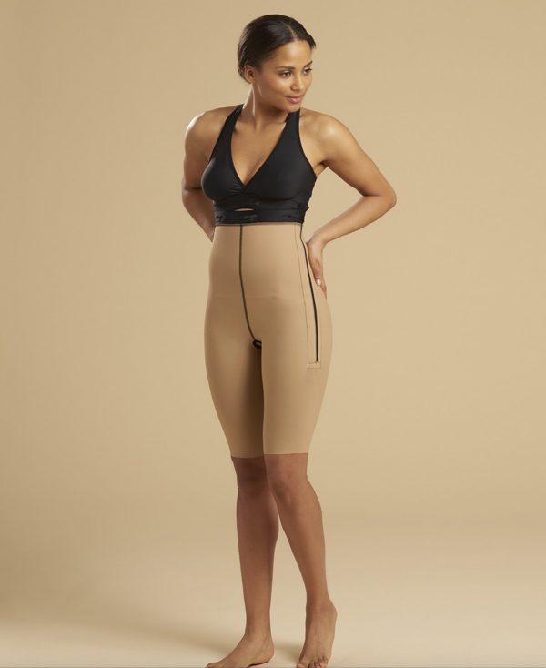 Ladies Girdle One Zip - Knee Length | LL1GS 05