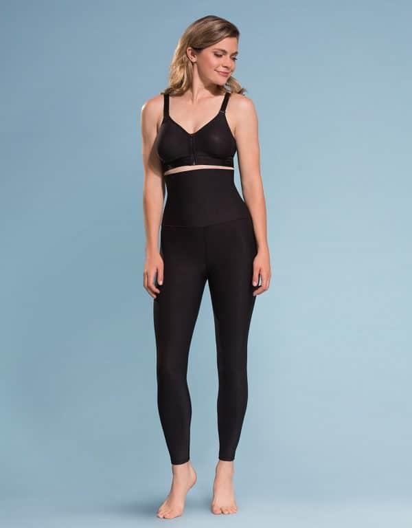 High-Waist Compression Leggings with Wide Band ME211