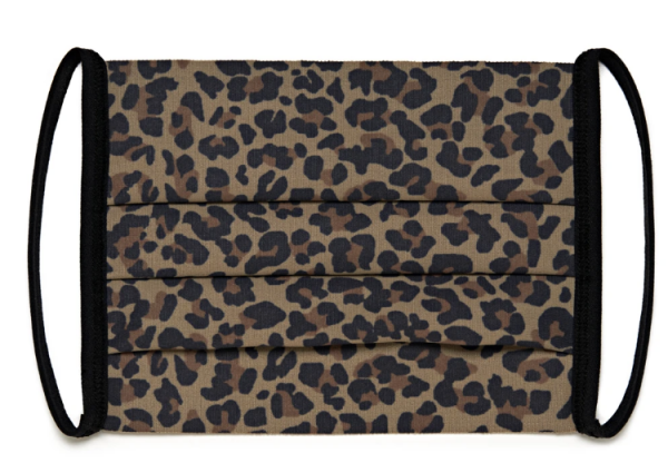 Antibacterial Face Mask UK - Leopard Print