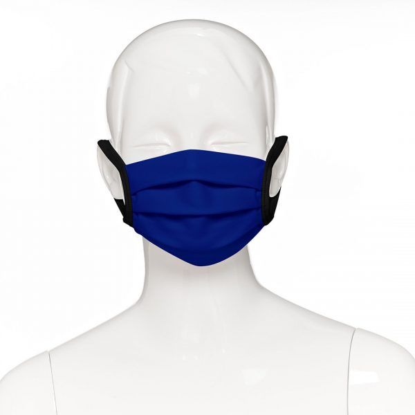 Childs Face Masks - Royal Blue - Front view