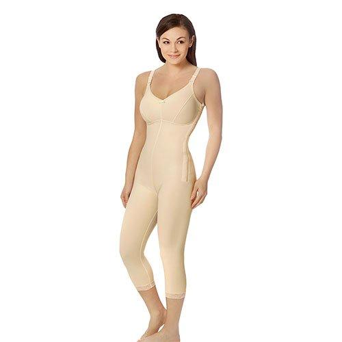 Calf Length Female Bodysuit with Bra