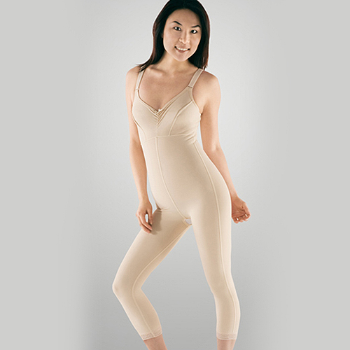 Second Stage Calf Length Female Bodysuit with Bra