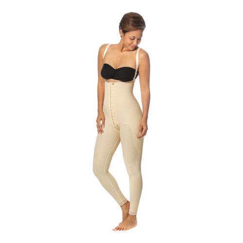 Female Bodysuit - Long 2XS Black - FBIL